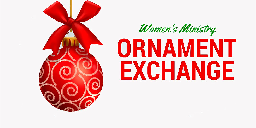 Women's Ministry Ornament Exchange