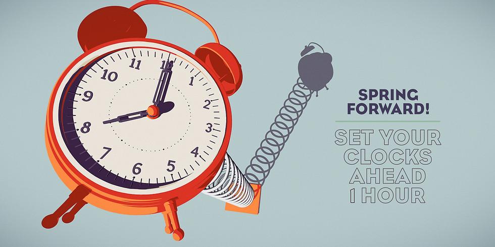 Change Your Clocks!