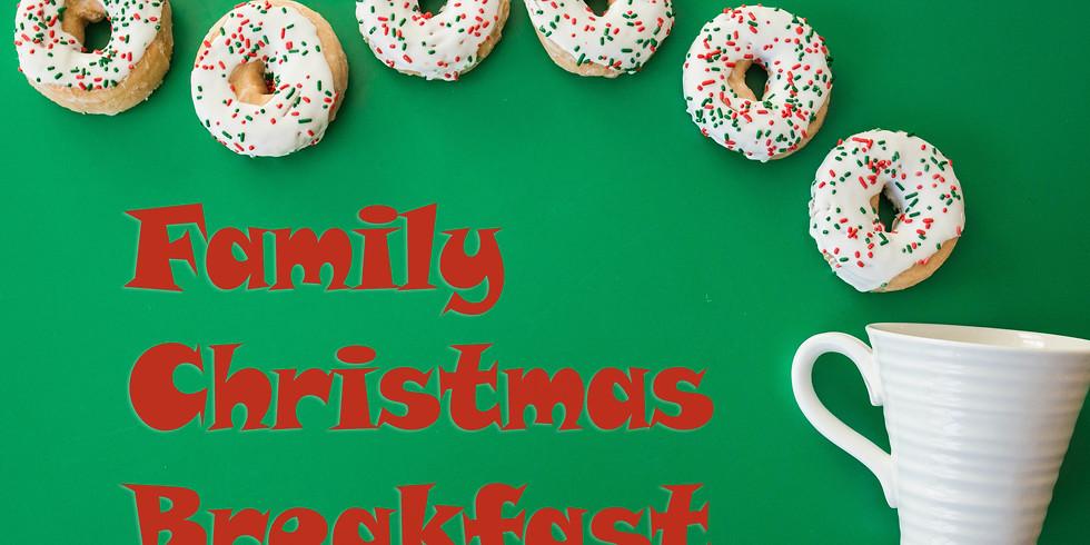 Family Christmas Breakfast
