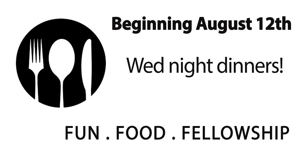 Wed Night Dinners