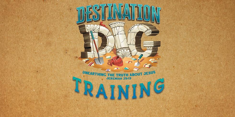 Destination Dig VBS Training