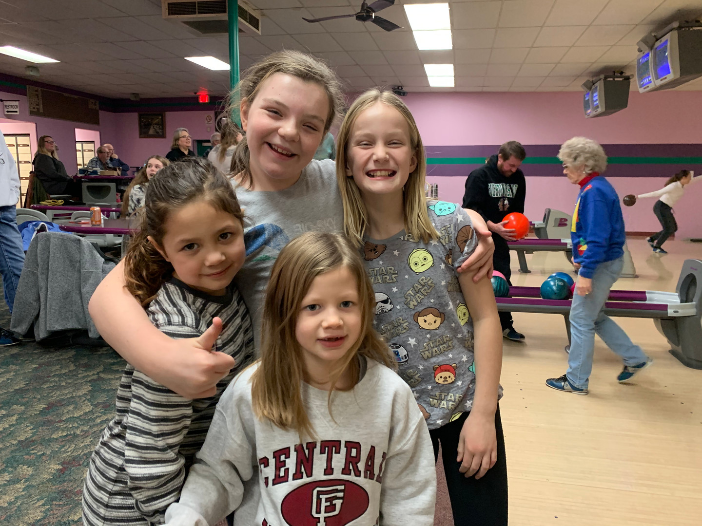 Family bowling event!