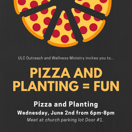 Pizza and Planting