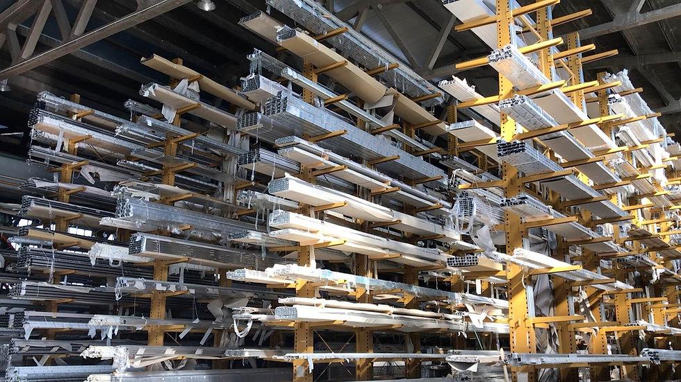 magazzino profili alluminio