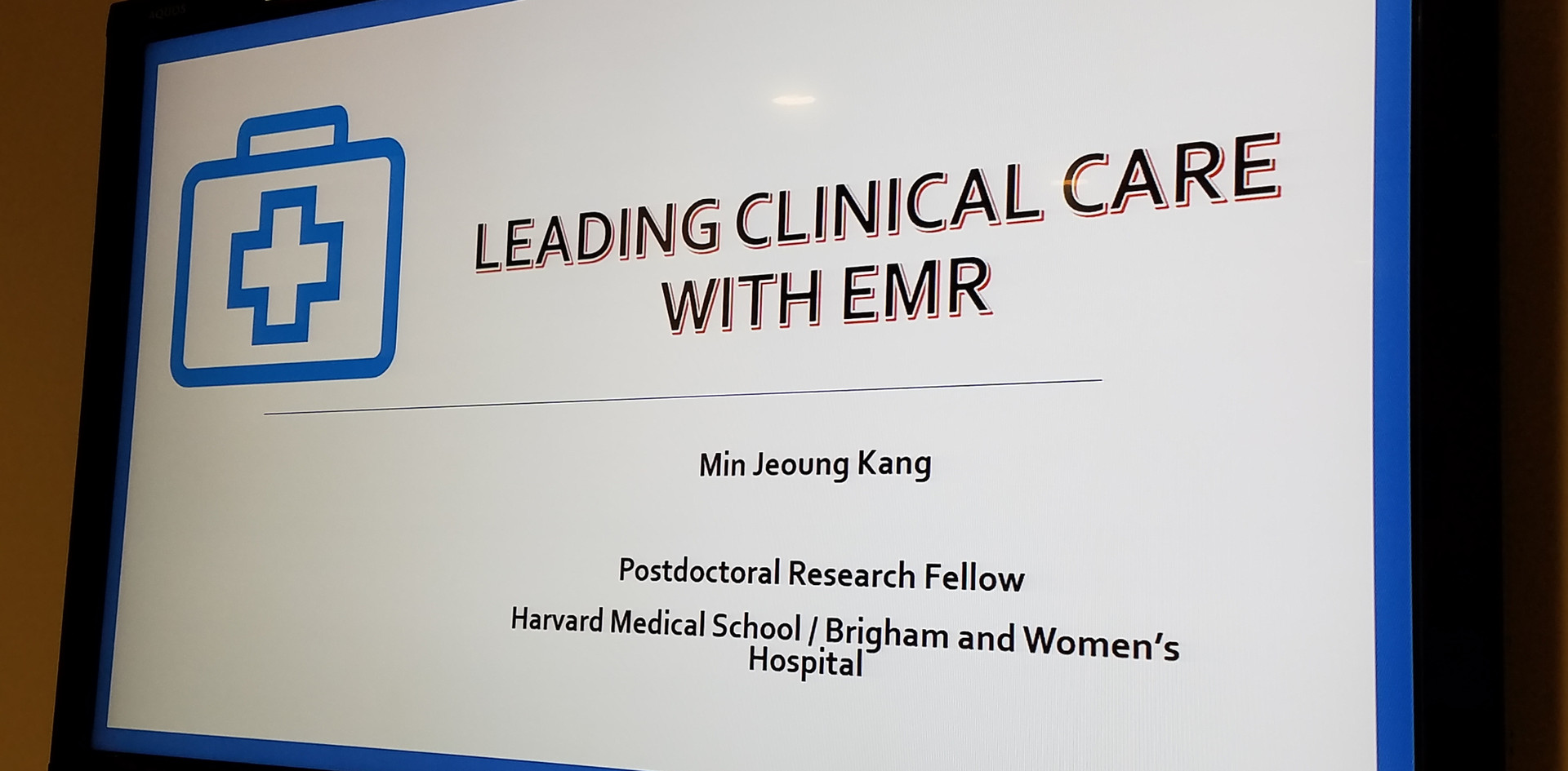 Leading Clinical Care with Electronic Medical Record (EMS)