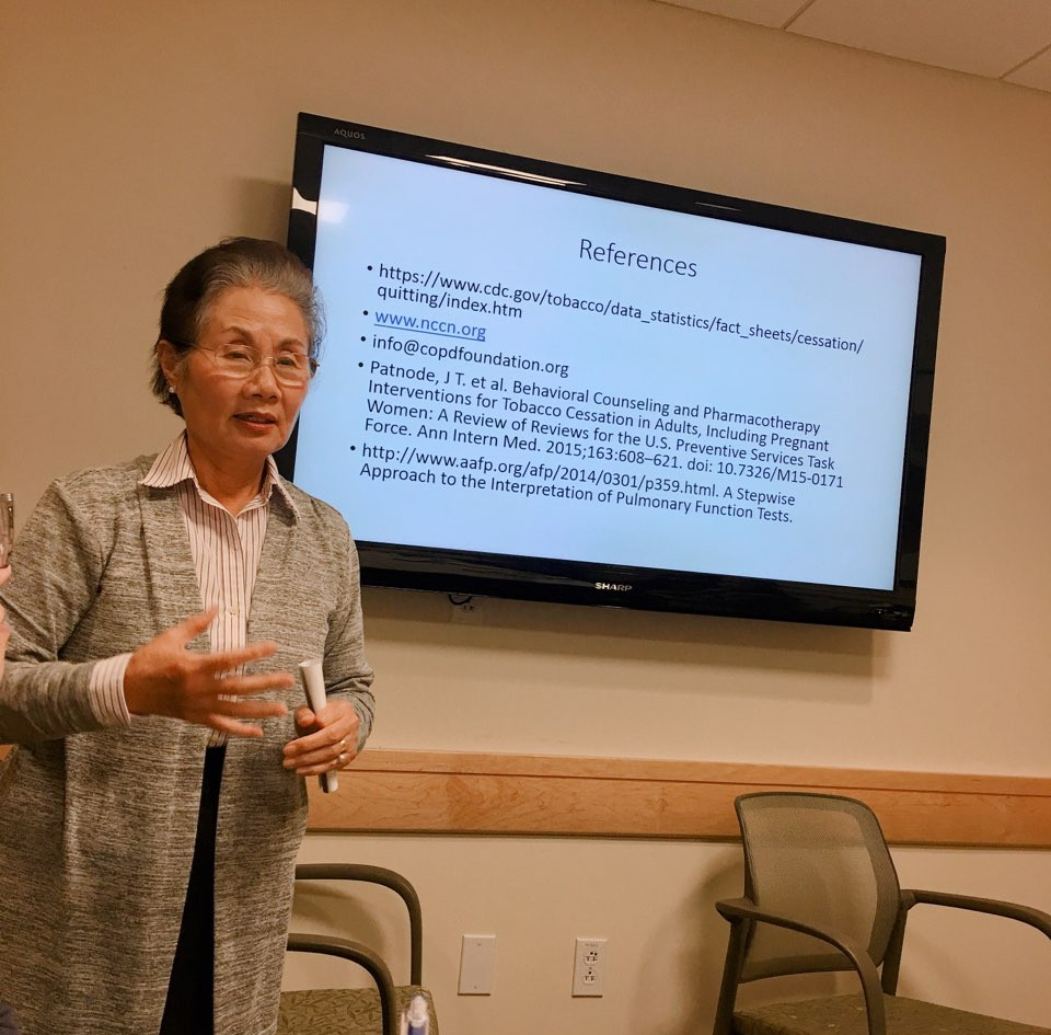 Professional Development : Sue Yoon COPD presentation