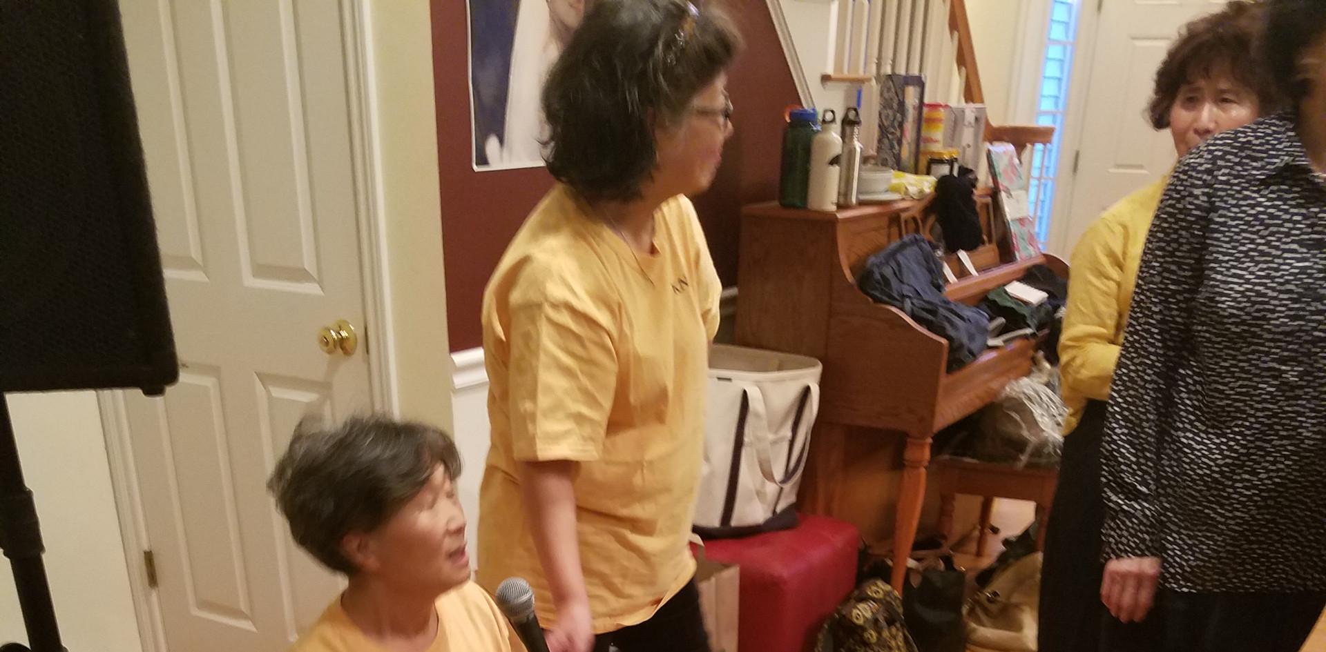 윤은경 간호사님-보스톤 산악회 회원들을 위한 CPR