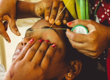 """Today I not only have my own beauty parlour but also employ  three other women"":"