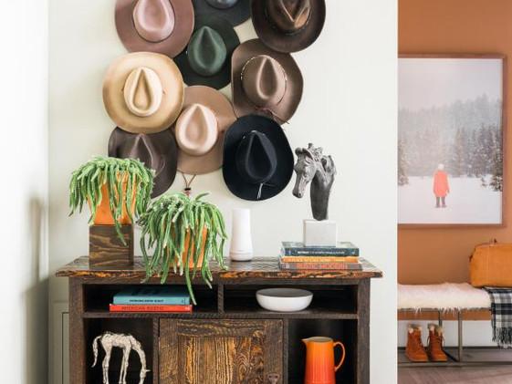 Ranch Hand Hat Decoration