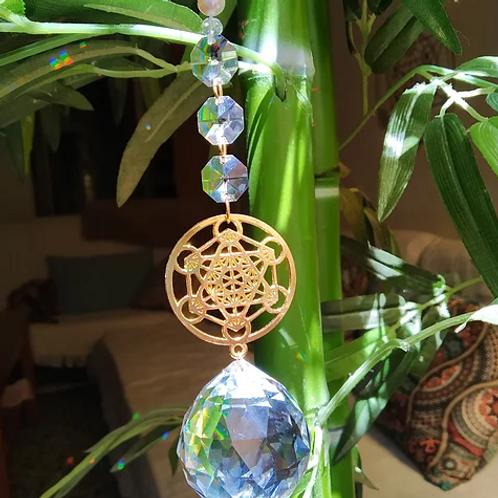 """""""Metatrón"""" Geometría Sagrada en Dorado"""