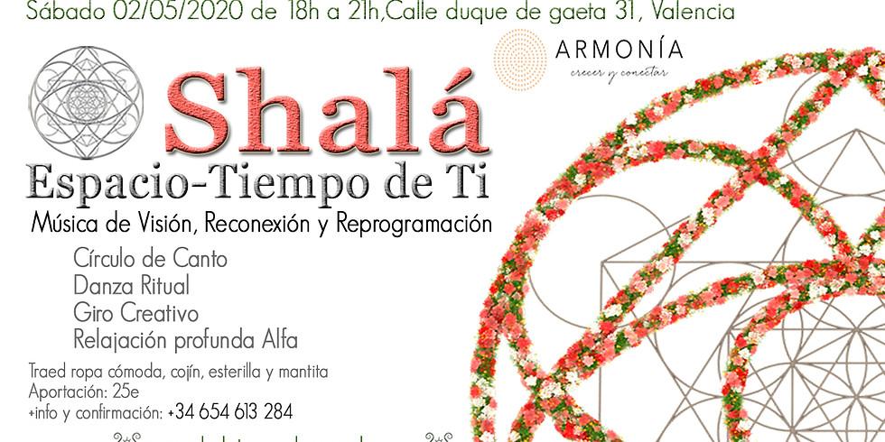 Encuentro Shalá, Música de Visión en Valencia