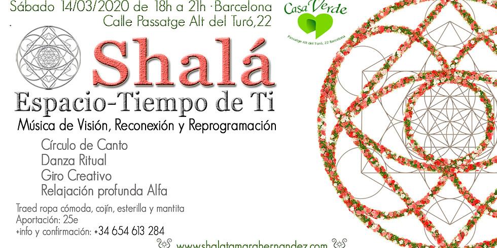 Encuentro Shalá en Barcelona. Música de Visión