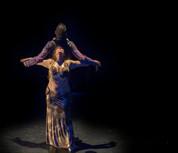 Claudia Massera and Manfredi Gelmetti performing at RADA