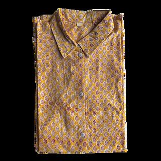 Shirt . Block Printed