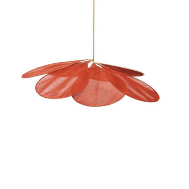 Pale Ceiling Lamp Terracotta