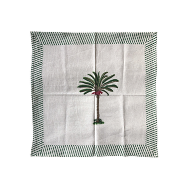 Goa Napkin . Green