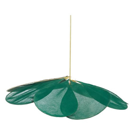 Pale Ceiling Lamp Green
