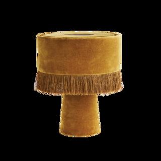 Velvet Table Lamp Mustard