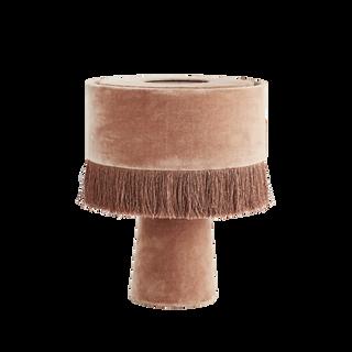 Velvet Table Lamp Dusty Rose