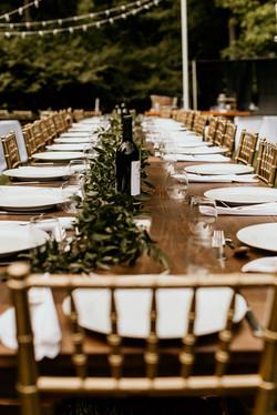 Victoria & Al's Modern Rustic Chic Wedding