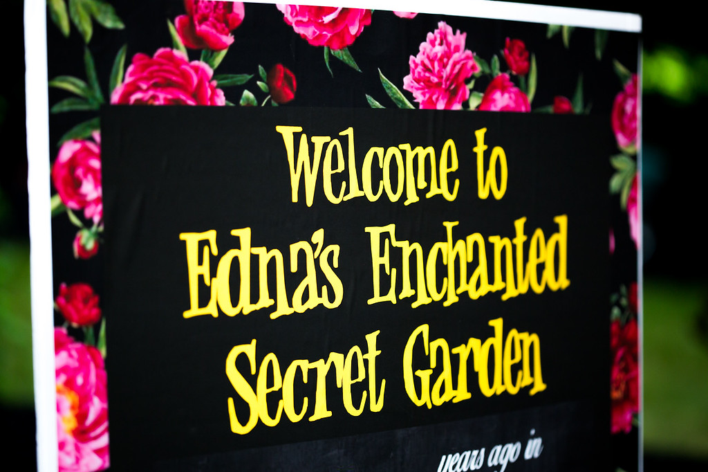 "Edna's ""Enchanted Secret Garden 70th"