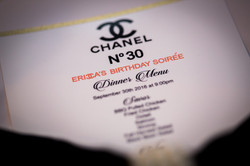 Erica's Chanel No.30 Birthday Soirée