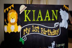 """Kiaan's Jungle """"Wild One"""" Birthday"""