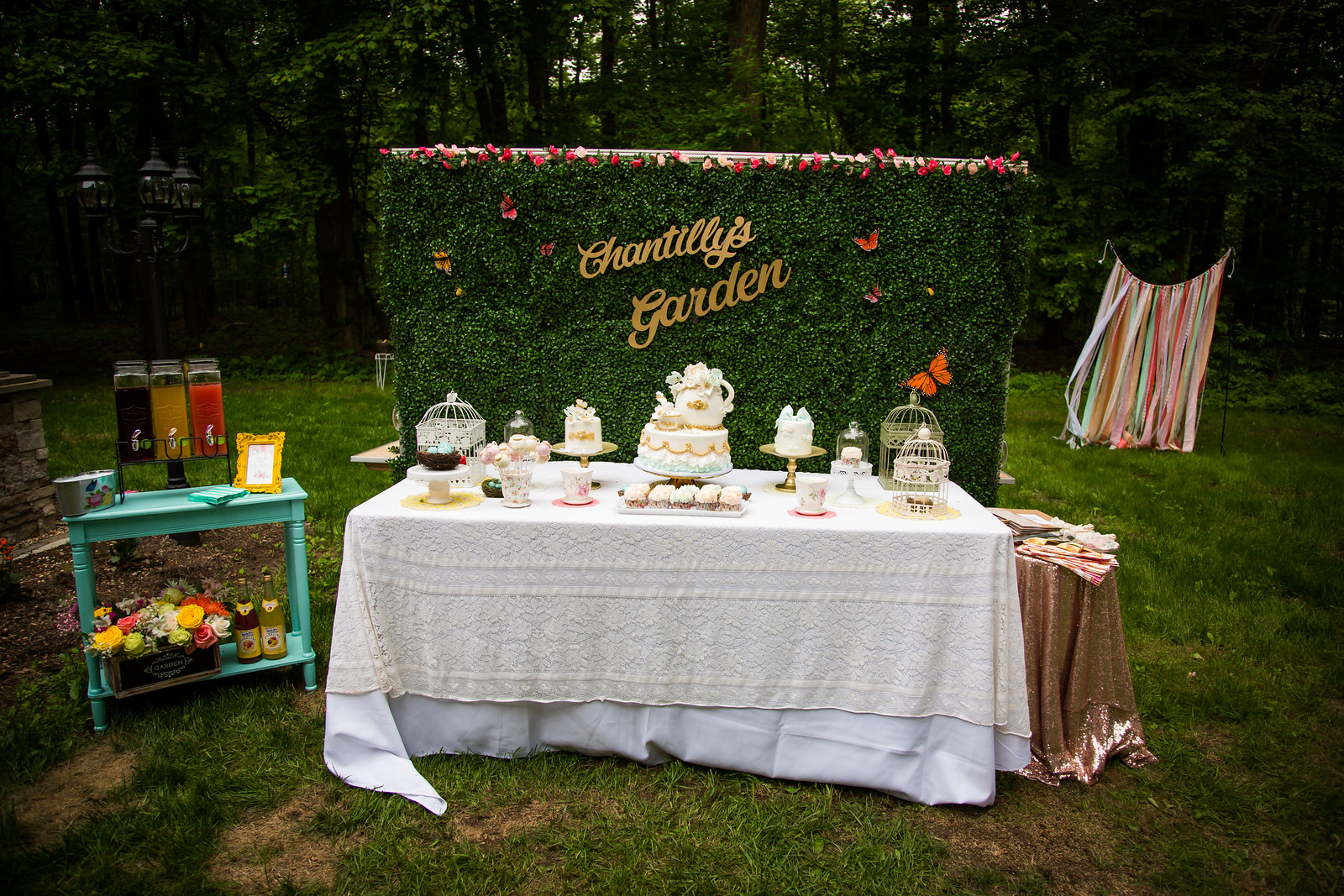 Chantilly Garden Tea Party Brunch