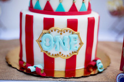 Vintage Circus 1st Birthday Party