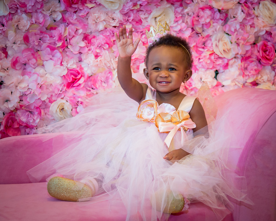 """Pretty in Pink"" Princess Fara's 1st"
