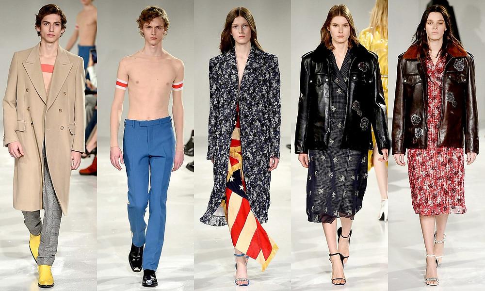 Last Fashion Show from Calvin Klein