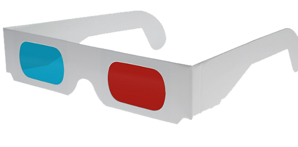 3D Card Glasses