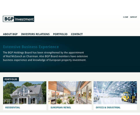 BGP INVESTMENT – LUXEMBOURG INVESTMENT FUND