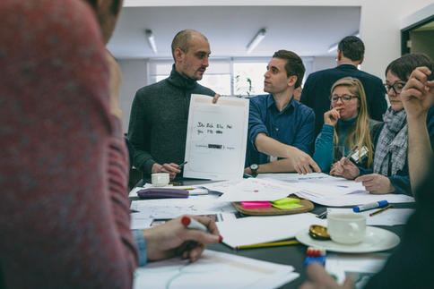 CRÉATHON - WORKSHOP FOR DEVELOPING THE NEW IDENTITY FOR THE GRAND-DUCHY OF LUXEMBOURG