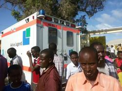 Krankenwagen für Somaila 6