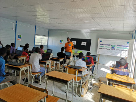 Großes Interesse an IT Kursen in Somalia