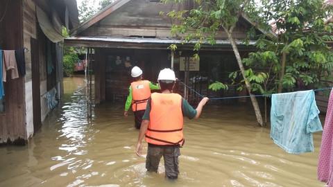 Flutkatastrophe in Indonesien