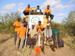 Bagger in Kenia