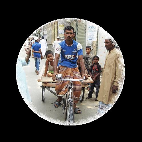 Rikscha - Projekt Bangladesch