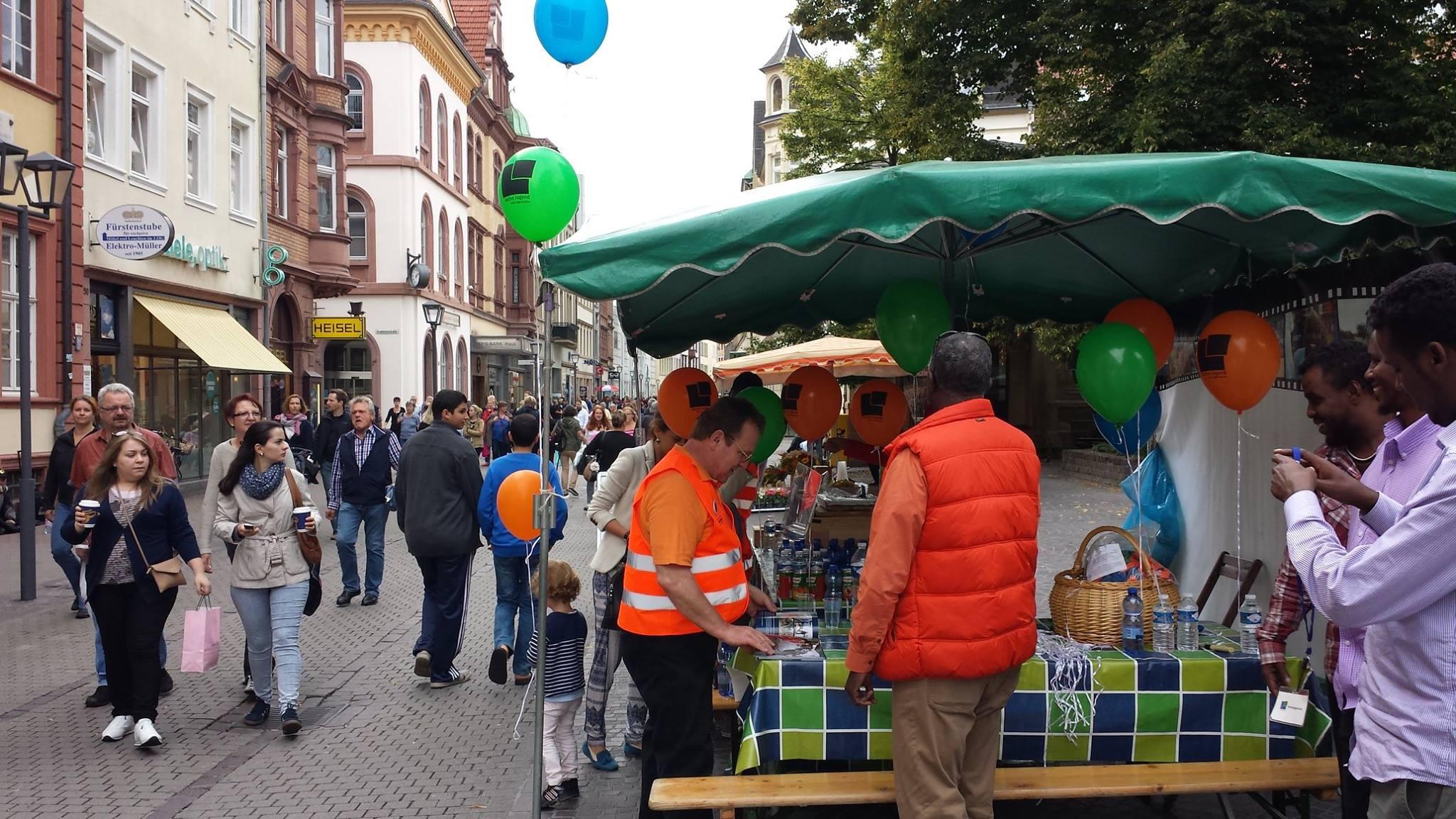 Infostand Heidelberg 1