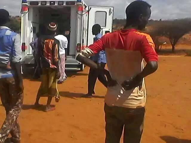 Krankenwagen für Somaila 8