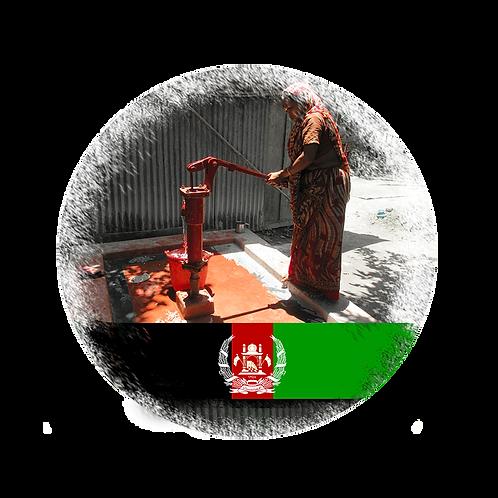 Brunnen mit Handpumpe in Afghanistan