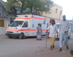 Krankenwagen für Somaila 3