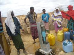 Wasserpumpe Äthiopien