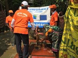 Wasserpumpe Bangladesh