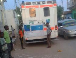 Krankenwagen für Somaila 15