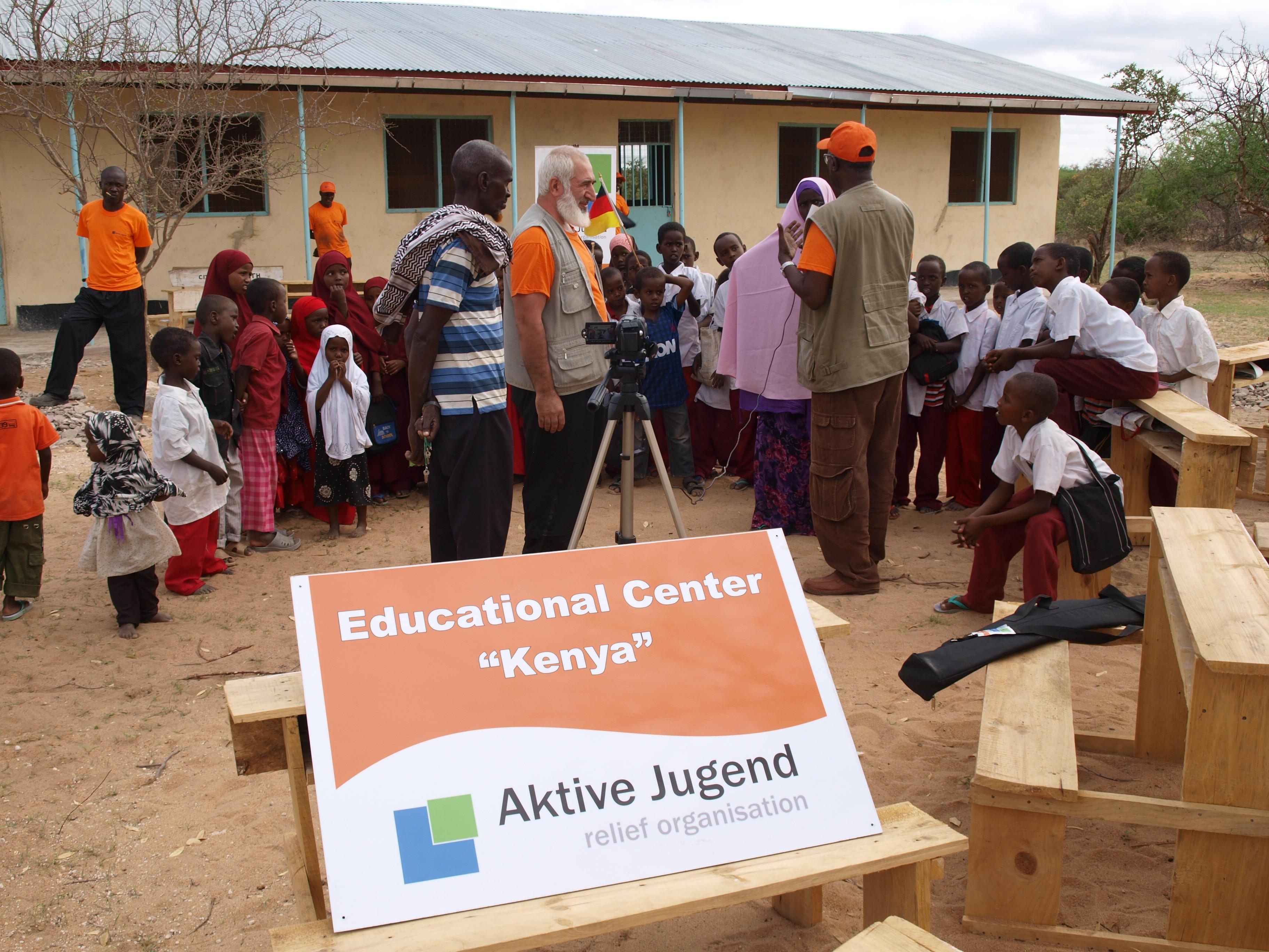 Bildungszentrum Spajudorf-Kenia 9