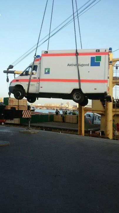 Krankenwagen für Somaila 2