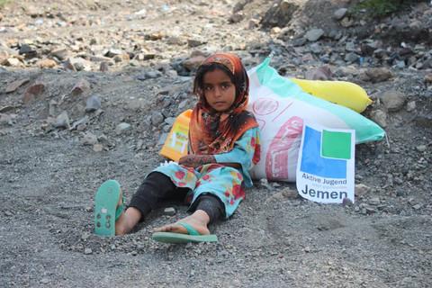 Jemen Hilfe in Bilder
