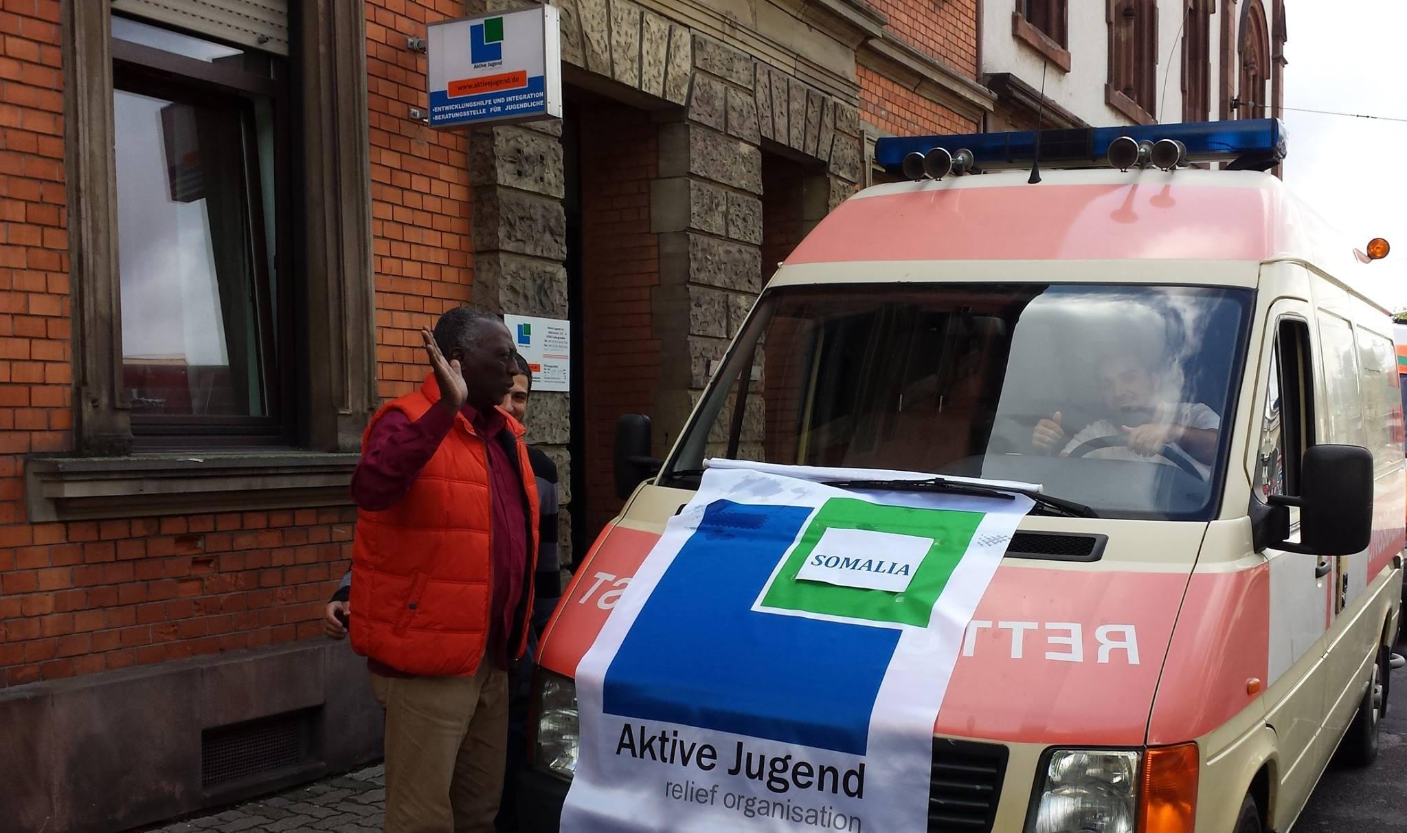 Krankenwagen für Somaila 1
